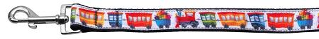 Colorful Trains dog leash