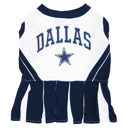 Dallas Cowboys NFL cheerleader dog dress