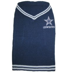 Dallas Cowboys turtleneck dog sweater