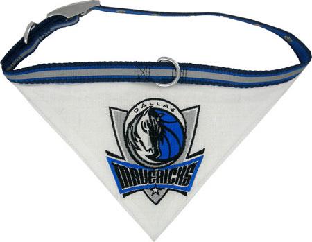Dallas Mavericks Dog Collar and Bandana