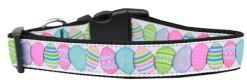 Decorated Easter Eggs Nylon Adjustable Dog Collar