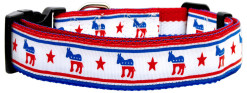 Democratic Party and stars Dog Collar