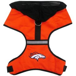 Denver Broncos Mesh Dog Harness