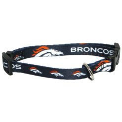 Denver Broncos NFL dog collar