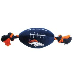 Denver Broncos plush football NFL toy