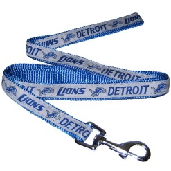 Detroit Lions NFL nylon dog leash