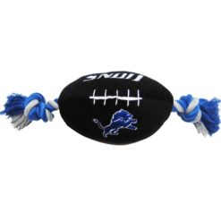 Detroit Lions plush dog football