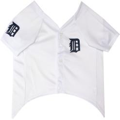 Detroit Tigers MLB dog jersey front