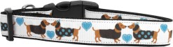 Doggie Loving Hearts Adjustable Dog Collar