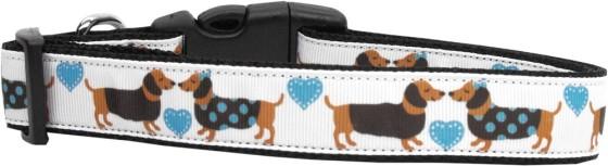 Doggie Loving Hearts Adjustable Dog Collar