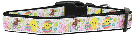 Easter Dog Collar Eggs Hatching colorful stars