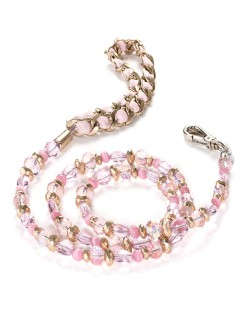 Fabuleash 5th Avenue Rose Beaded Leash