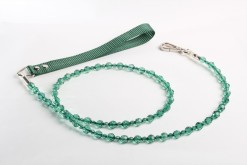 Fabuleash Emerald Green Beaded Leash