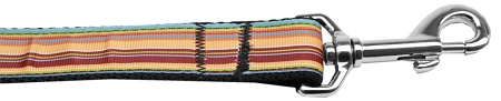 Fall Themed Stripes nylon dog leash