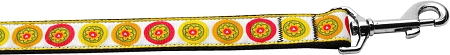 Fall Yellow Daisies Nylon Dog Leash