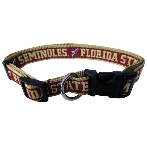 Florida State Seminoles FSU NCAA Nylon Dog Collar