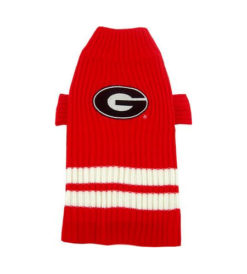 Georgia Bulldogs Turtleneck Dog Sweater