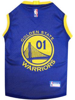 Golden State Warriors NBA Dog Jersey