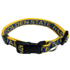 Golden State Warriors NBA Nylon Dog Collar