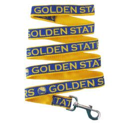 Golden State Warriors NBA Nylon Dog Leash