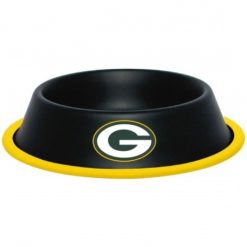 Green Bay Packers NFL Stainless Dog Bowl
