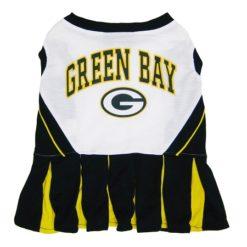 Green Bay Packers NFL cheerleader dog dress