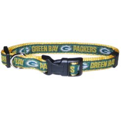 Green Bay Packers NFL nylon dog collar
