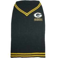 Green Bay Packers NFL turtleneck dog sweater