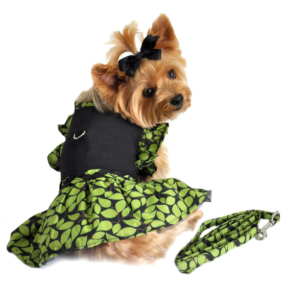 Green Leaf St. Patrick's Day Dog Dress