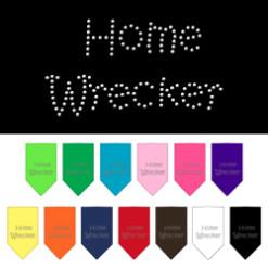 Home Wrecker dog bandana rhinestone