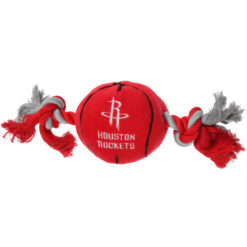 Houston Rockets NBA Plush Dog Toy