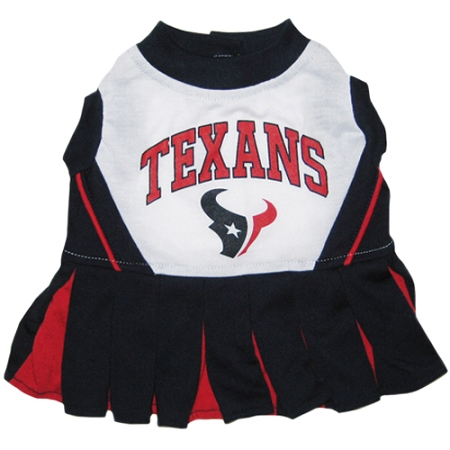 Houston Texans NFL dog cheerleader dress