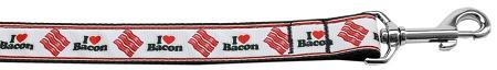 I Love Bacon Dog Leash