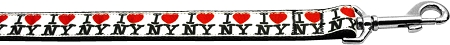 I Love New York Heart Dog Leash