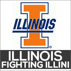 Illinois Fighting Illini Dog Products