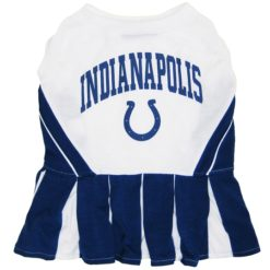 Indianapolis Colts NFL dog cheerleader dress