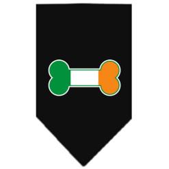 Ireland dog flag bone bandana black
