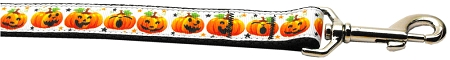 Jack-o-Lantern Facial Expressions dog leash pumpkin for halloween
