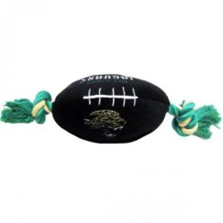 Jacksonville Jaguars NFL football plush dog toy