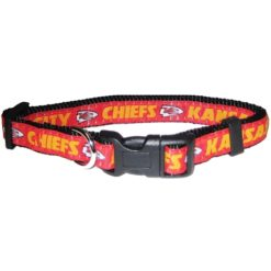 Kansas City Chiefs NFL nylon dog collar