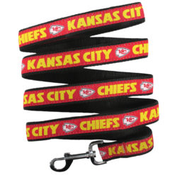 Kansas City Chiefs Nylon Dog Leash