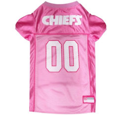 Kansas City Chiefs Pink Dog Jersey