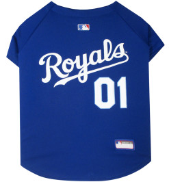 Kansas City Royals dog jersey back