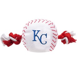 Kansas City Royals plush dog baseball and toy