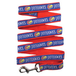 Kansas Jayhawks NCAA Nylon Dog Leash
