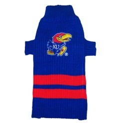 Kansas Jayhawks NCAA dog turtleneck sweater