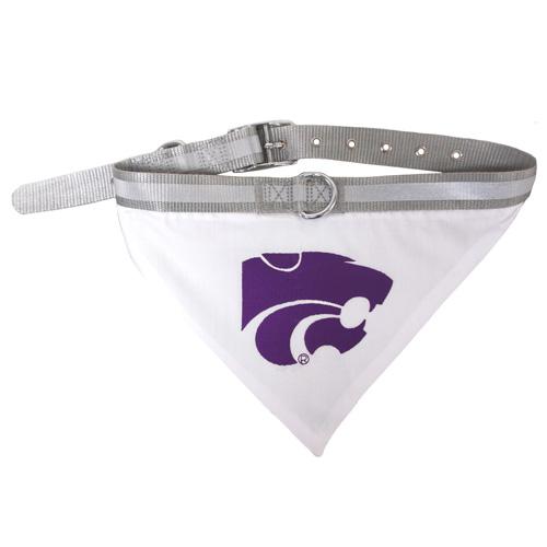 Kansas State Wildcats NCAA Dog Collar and Bandana