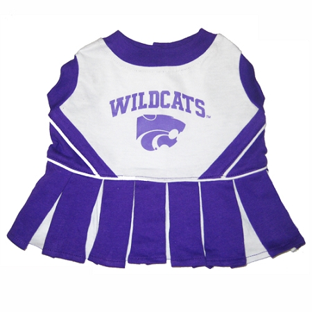 Kansas State Wildcats dog cheerleader dress