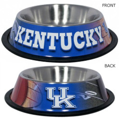 Kentucky Wildcats NCAA Stainless dog bowl