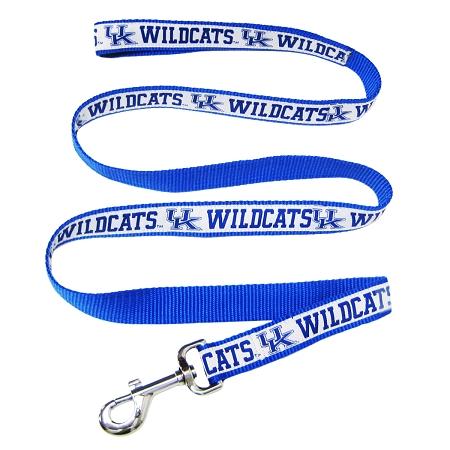 Kentucky Wildcats leather dog leash